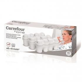 Set  Filtros de agua con Microparticulas  Blanco