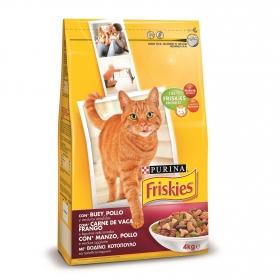 Comida para gatos Adultos con Buey, Pollo y Verdura