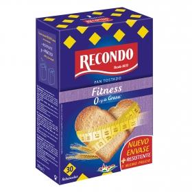 Pan tostado sin grasa Recondo 270 g.