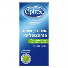 Colirio refrescante para ojos cansados Optrex 10 ml.