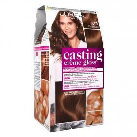 Tinte Créme Gloss nº 535 Castaño Dorado L'Oréal Casting 1 ud.