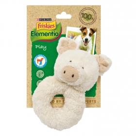 Juguete aro cerdito para perro pequeño o cachorro