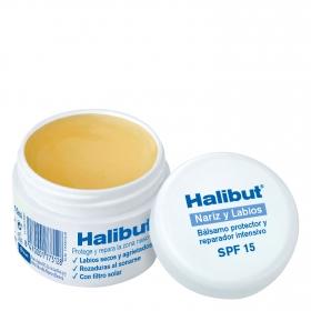 Bálsamo protector y reparador intensivo nariz y labios Halibut 10 ml.