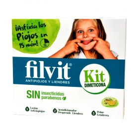 Kit Dimeticona antipiojos y liendres