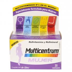 Multivitamínico y multimineral para mujer