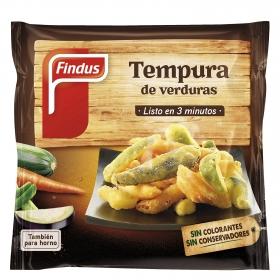 Tempura de verduras Findus 350 g.