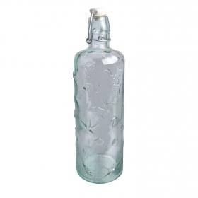 Botella Vidrio Redonda Marina 750 ml - Transparente