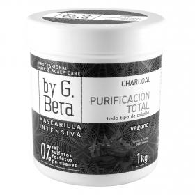 Mascarilla capilar intensiva purificación total Charcoal By G. Bera 1 kg.