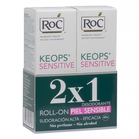 Desodorante roll-on Keops sensitive