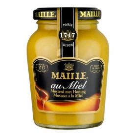 Mostaza a la miel Maille tarro 230 g.