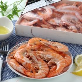 Langostino cocido congelado (30/40 ud) Pescatrade 900 g