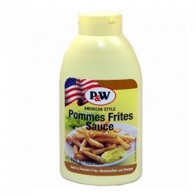 Crema patatas fritas P&W envase 450 ml.