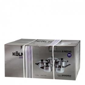 Batería 9 piezas mod Koln 2207