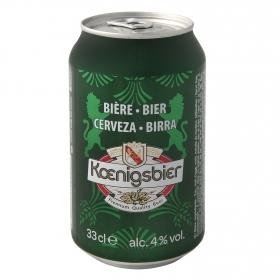 Cerveza Koenigsbier 4% lata 33 cl.
