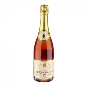 Champagne Courance brut rosé 75 cl.