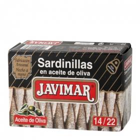 Sardinilla en aceite de oliva 14/22 Javimar 88 g.