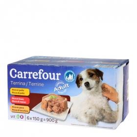 Alimento Húmedo para Perros 6x150gr Latas Surtidas