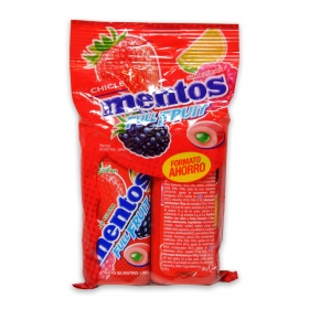 Chicle frutas-silvestres lima