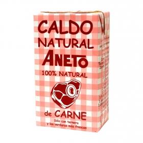 Caldo de carne natural Aneto 1 l.