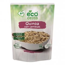 Quinoa con lentejas ecológica Ecocesta 250 g.