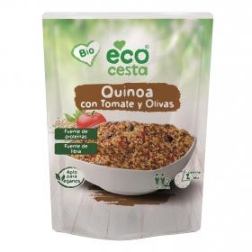 Quinoa con tomate y olivas ecológica Ecocesta 250 g.