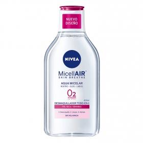 Agua Micelar piel seca/sensible Nivea 400 ml.
