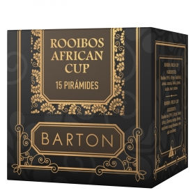 Infusión Rooibos african cup en bolsitas Barton 15 ud.