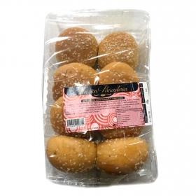Bocaditos de pan de hamburguesas de tomáte y orégano P.Tradicional envase 8 ud