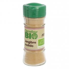 Jengibre molido ecológico Carrefour Bio 25 g.