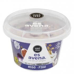 Postre de avena sabor higo Sun & Vegs sin lactosa 180 g.