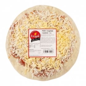 Pizza de quesos Trigal 300 g.