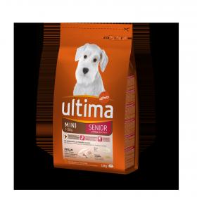 Ultima Pienso para Perro Adulto Mini Sabor Pollo 1,5kg.