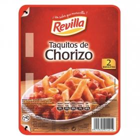Taquitos de chorizo Revilla sin gluten 150 g.