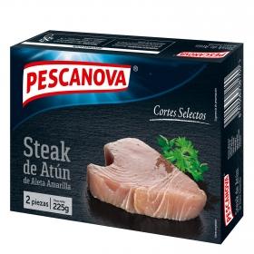 Steak de atún de aleta amarilla Pescanova 225 g.