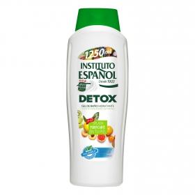 Gel de ducha hidratante detox Instituto Español 1250 ml.