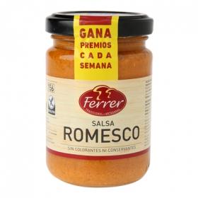 Salsa Romesco Ferrer sin gluten tarro 130 g.