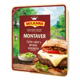 Queso en lonchas extra sabor Montaver Milkana 130 g.