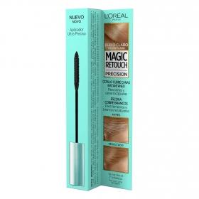 Cepillo cubre canas instantaneo rubio claro L'Oréal Magic Retouch 8 ml.