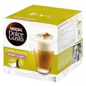 Café cappuccino light en cápsulas
