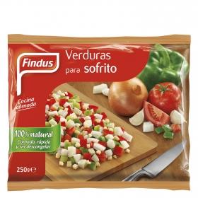 Verduras para sofrito Findus 250 g.