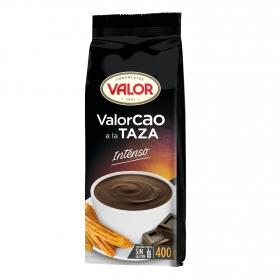 Chocolate a la taza en polvo Valor sin glute 400 g.