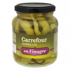 Guindillas en vinagre Carrefour 130 g.