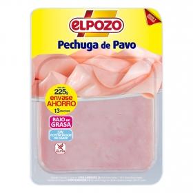 Pechuga de pavo El Pozo 225 g.