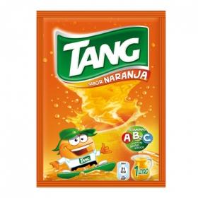 Refresco de naranja Tang sin gas en polvo