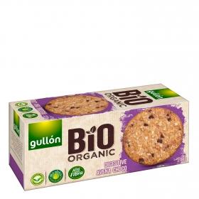 Galletas de avena y chocolate ecológicas Digestive Gullón 270 g.