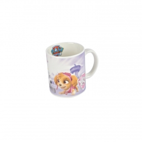 Mug de Bon China Patrulla Canina No pup is too Small  Decorado