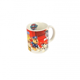 Mug de Bon China Patrulla Canina Is on a Roll  Decorado