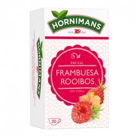 Infusión frutal de frambuesa en bolsitas Hornimans 20 ud.