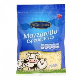 Queso rallado mozzarella
