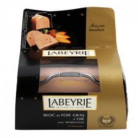 Bloc con trozos foie gras de oca Labeyrie 300 g.
